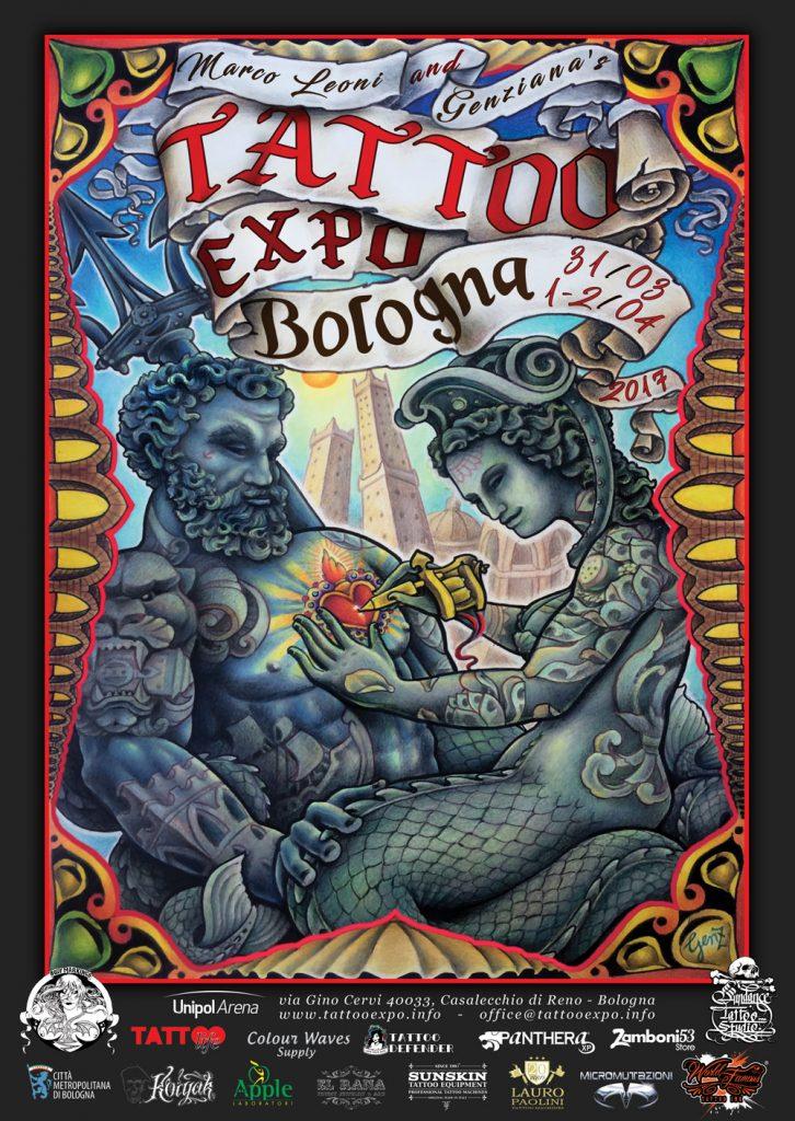 tattoo expo bologna 2017