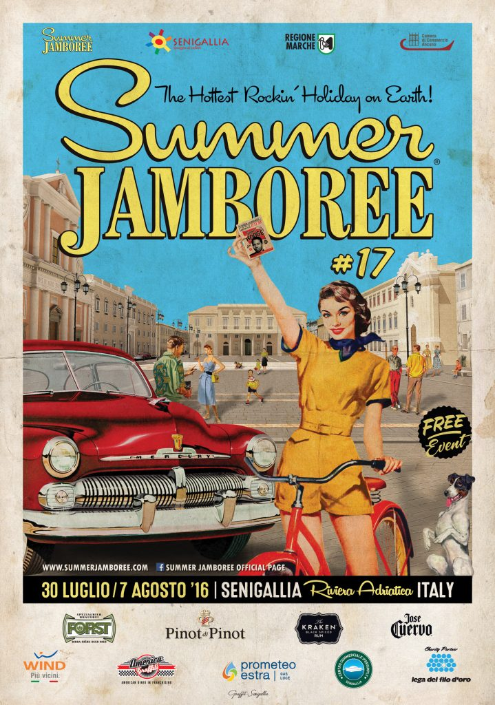Poster Summer Jamboree 2016