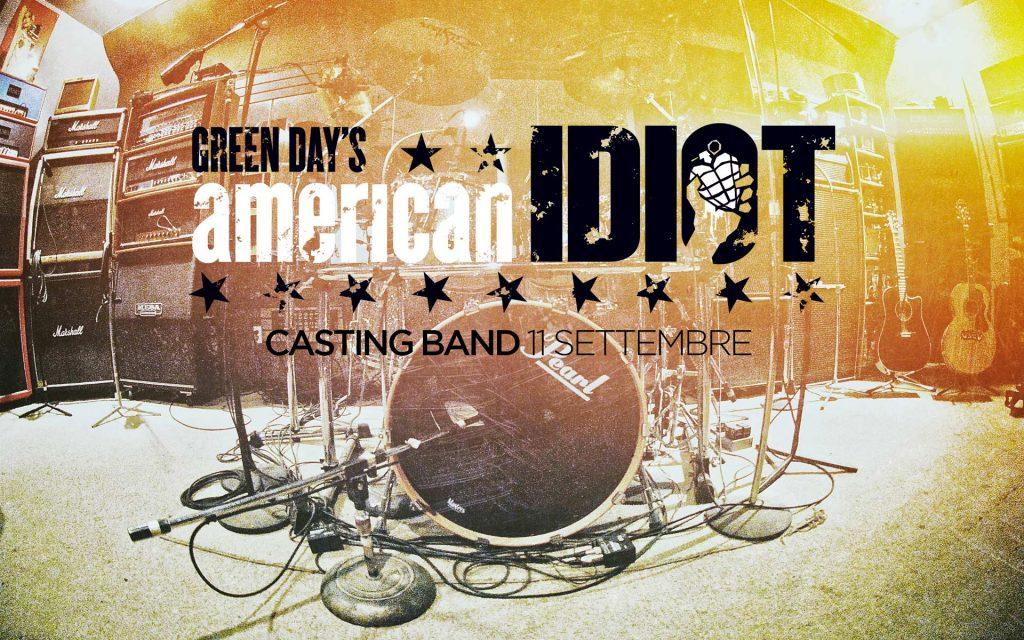 american idiot italia casting band