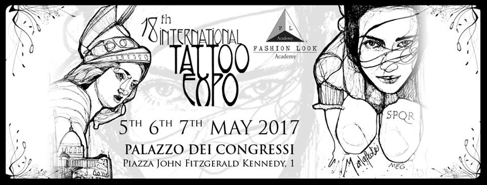 International Tattoo Expo Roma 2017