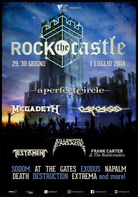 rock the castle 2018