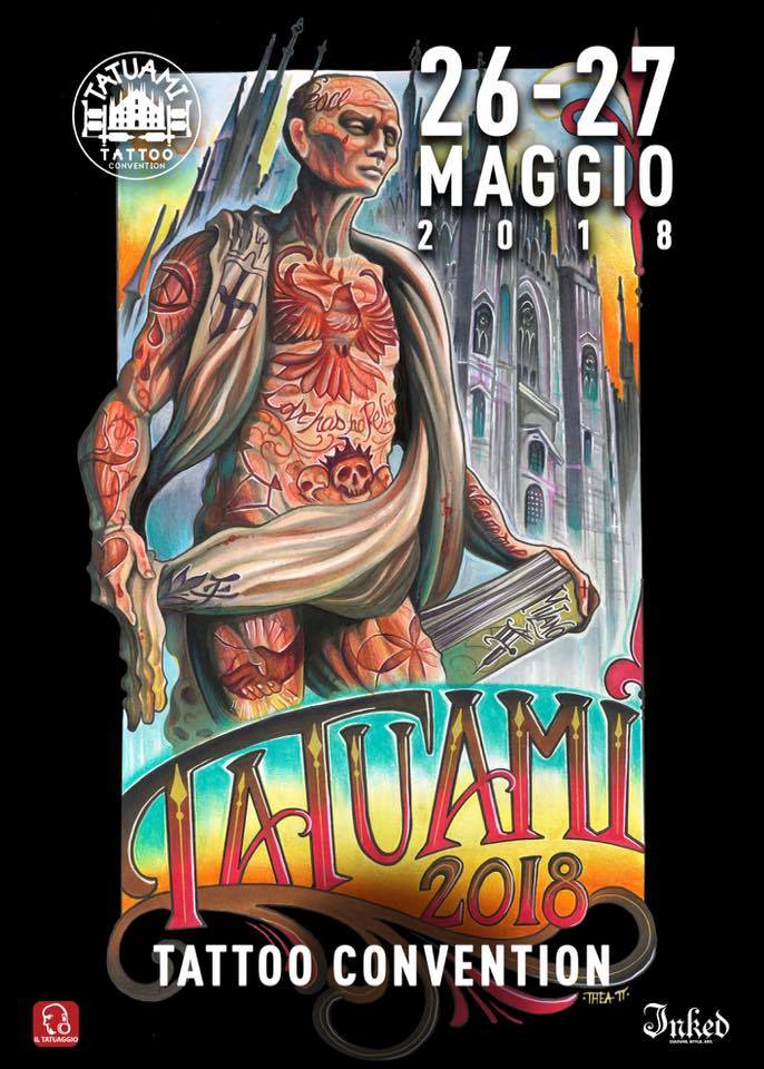 tatuami tattoo convention 2018