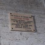 GIORGIO GABER, UNA TARGA PER LA SUA CASA NATALE
