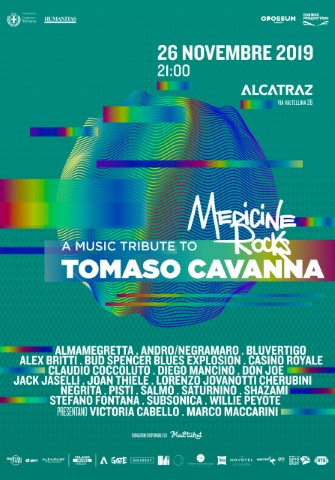 MEDICINE ROCKS, A TRIBUTE TO TOMASO CAVANNA